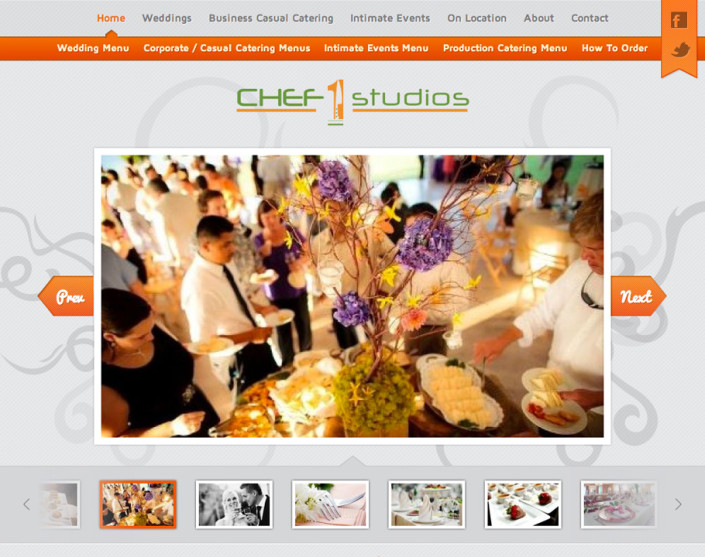 Joomla Catering Website