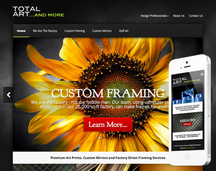 Wordpress Manufacturer Website