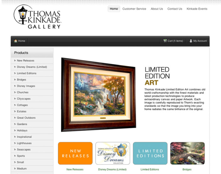 Joomla Art Website